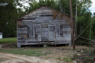 The old magistrates office of Mars Bluff, SC.