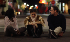 Raven Demi Massey, Kahlan Shull, and Michael Tolbert on location in Newberry, SC, in serious life discussions.